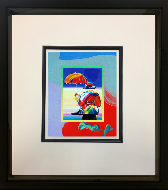 Peter Max, 'Umbrella Man on Blends 2007 #3261', 2007, Baterbys