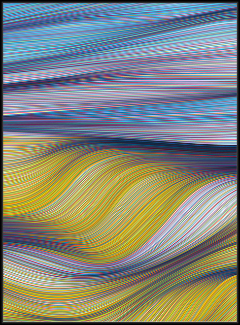 , 'Brighter Wave,' 2018, StolenSpace Gallery