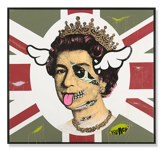 , 'HRH Her Royal Hideousness,' 2015, Treason Gallery