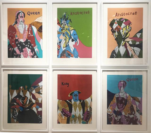 Yinka Shonibare CBE, 'Unstructured Icons', 2018, Galerie Maximillian