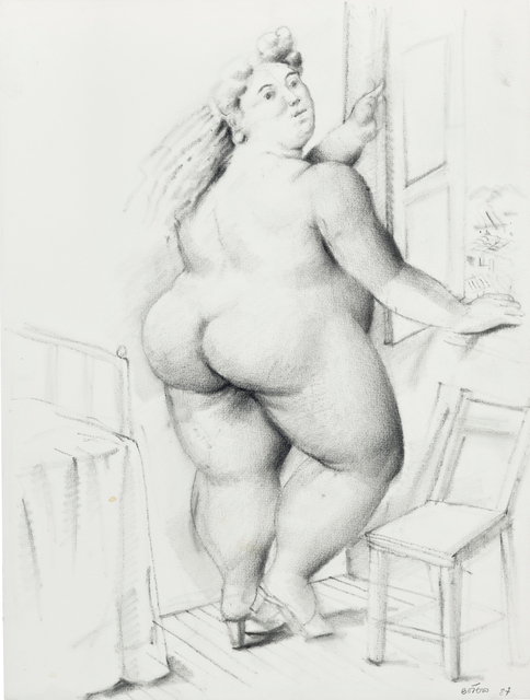 Fernando Botero, 'Woman in Front of Window', 1987, Steven Graven Modern & Contemporary Art