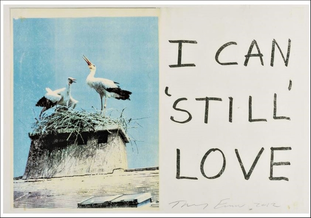 Tracey Emin, 'I Can Still Love', 2012, Alpha 137 Gallery