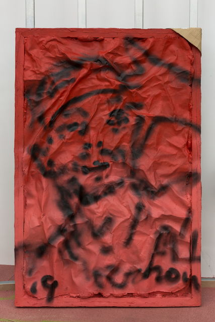 Zhou Yilun 周轶伦, 'The Answer (Red)', 2019, Beijing Commune