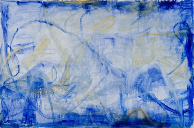 , 'Irregular Blue Lines,' 2016, Hauser & Wirth