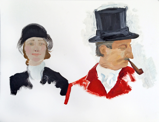 , 'Riders,' 2016, Sears-Peyton Gallery