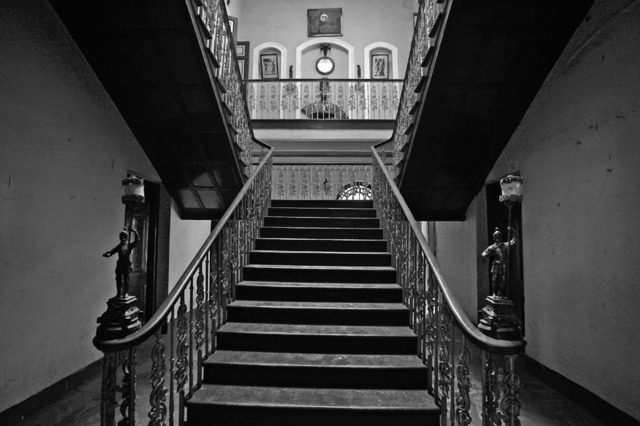 , ''Laha residence', Colonial period mansion, Calcutta,' 2013, Sundaram Tagore Gallery