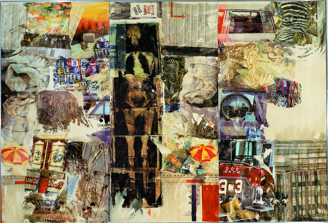 Robert Rauschenberg, 'Mirthday Man [Anagram (A Pun)]', 1997, Mixed Media, Inkjet dye and pigment transfer on polylaminate, Robert Rauschenberg Foundation