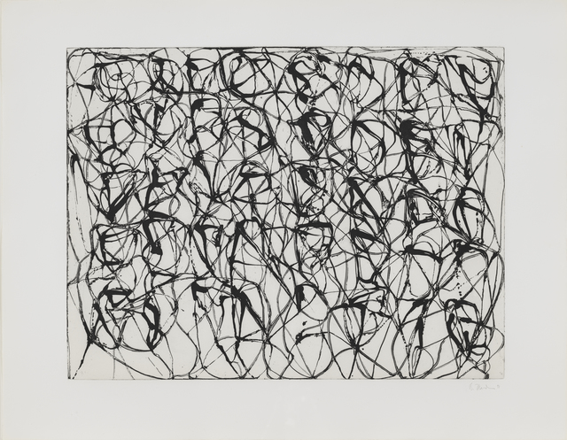 , 'Zen Studies 1-6: Plate 1,' 1990, Susan Sheehan Gallery