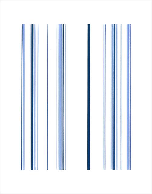 , 'Stripes CT004,' 2017, Tempe Digital