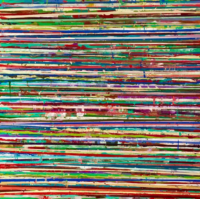 , '131 Horizon Lines,' 2017, Carrie Haddad Gallery