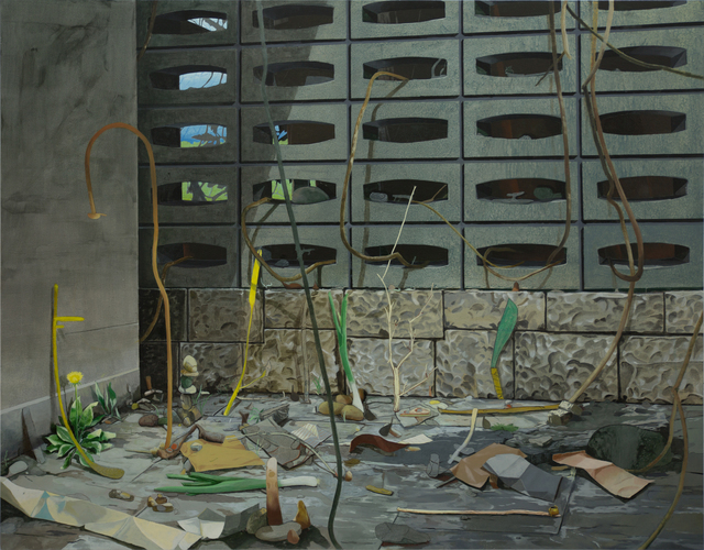 , 'Blind Corner,' 2014, Josedelafuente