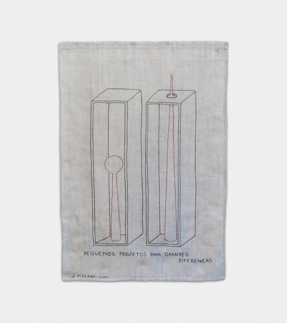 Julio Villani, 'pequenos projetos para grandes diferenças', 2004, Galeria Raquel Arnaud