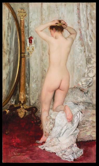 , 'Nu devant un Psyché ,' 1886, Galerie de Souzy