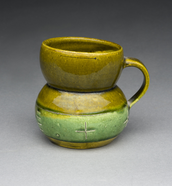 Ken Price, 'Untitled (Green Cup)', ca. 1977, Aaron Payne Fine Art