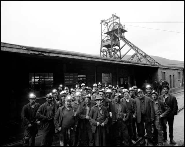 , 'GB. Wales. 1965. Portrait of a group of miners.,' ca. 1965, Elizabeth Houston Gallery