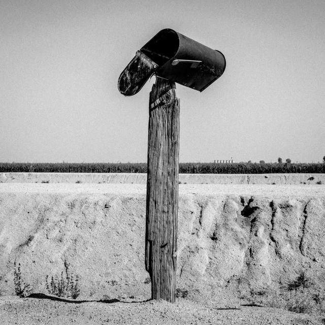 , 'Mailbox. Teviston, CA. ,' 2014, Anastasia Photo