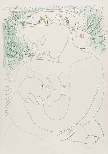 Pablo Picasso, 'Grande Maternite', 1963, Forum Auctions
