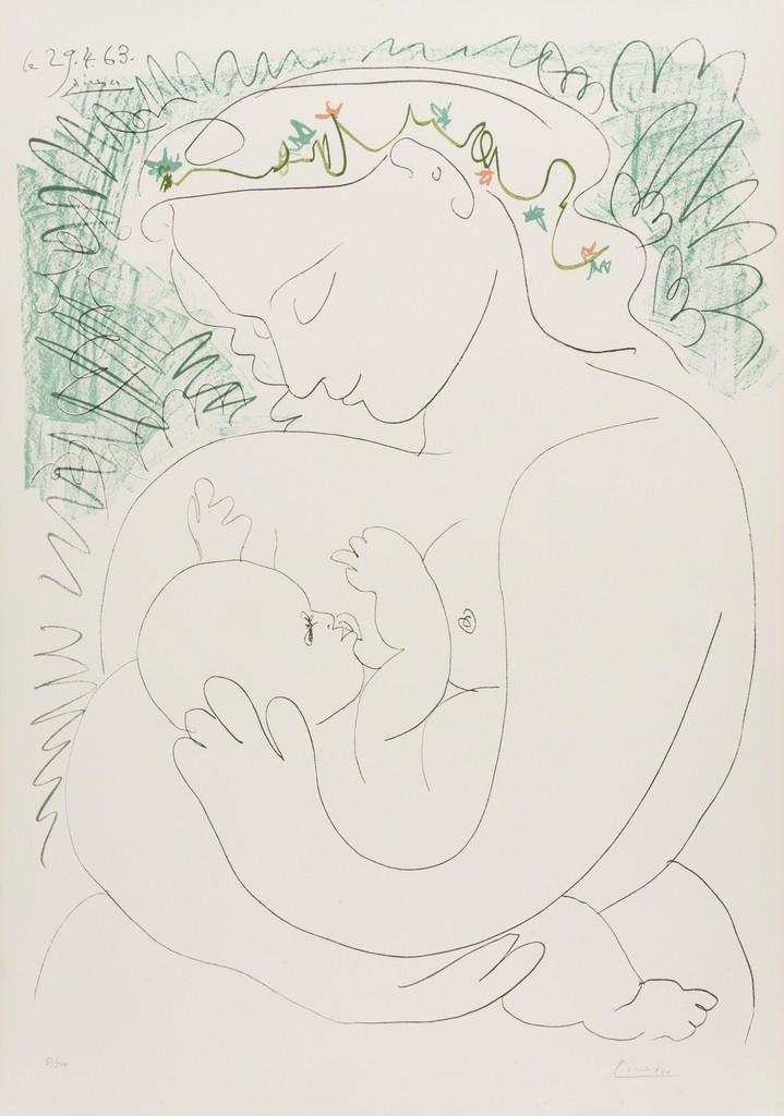 Pablo Picasso | Grande Maternite (1963) | Artsy