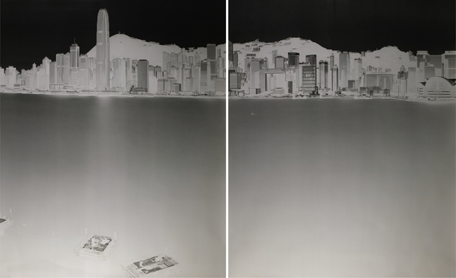 , 'Avenue of Stars, HK 6-7 July 2016 (diptych),' 6, 10 Chancery Lane Gallery