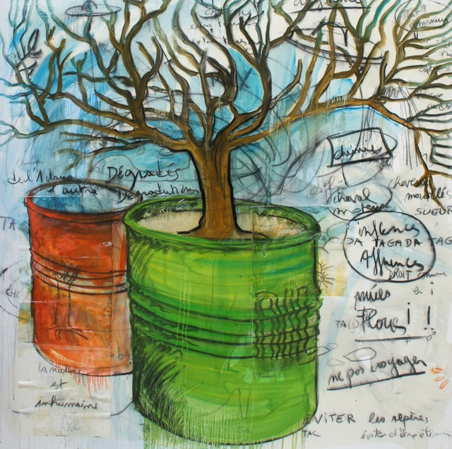 , 'Arborescence,' 2010, Galerie Ariel Sibony