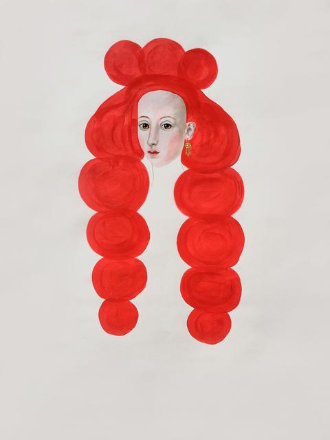 Anne Siems, 'Red Hair Drawing', 2018, Slete Gallery
