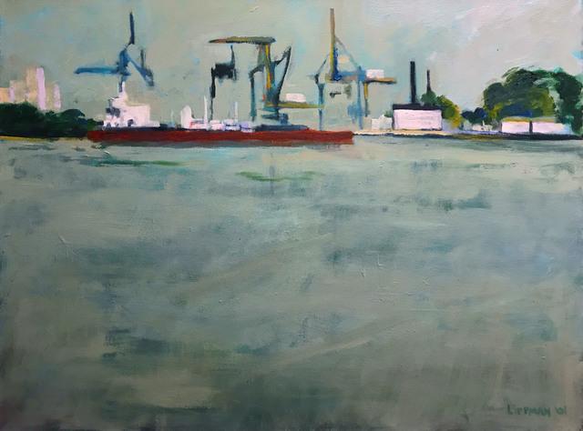 , 'Loading on the Delaware,' 2001, InLiquid