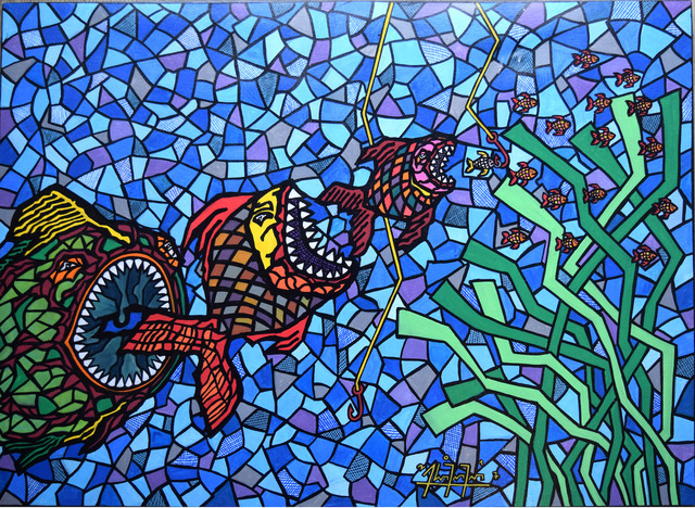 , 'The Big Fish,' 2017, AC Gallery