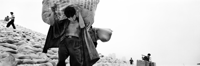 , 'Porters at Choatianmen Harbour. Chong Qing, China,' 1998, La Galerie Paris 1839