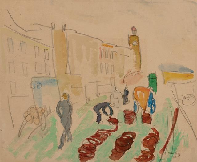 Raoul Dufy, 'Promenade sur les Quais', 1908, Doyle