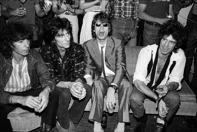 , 'The Rolling Stones visit Danceteria in New York City,' 1980, Madelyn Jordon Fine Art