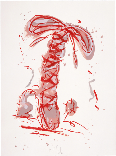 , 'Sneaker Lace in Landscape - Red,' 1991, Gemini G.E.L.
