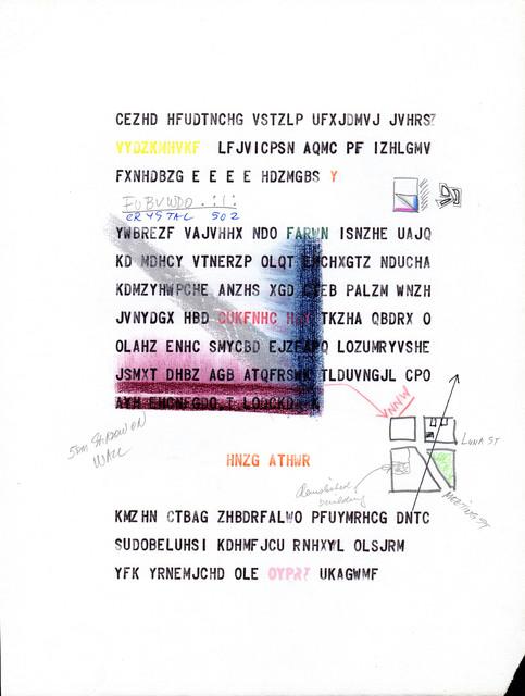 , 'BBB (Beatrice's Black Book) 62,' 1985, Henrique Faria Fine Art