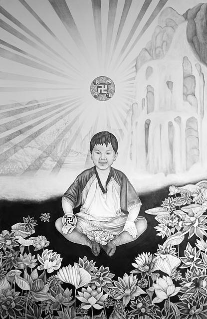 , 'Shān shuǐ huà, Shansuihua - Portrait of Oli Xiaoyou Ma,' 2017, Galleria Heino