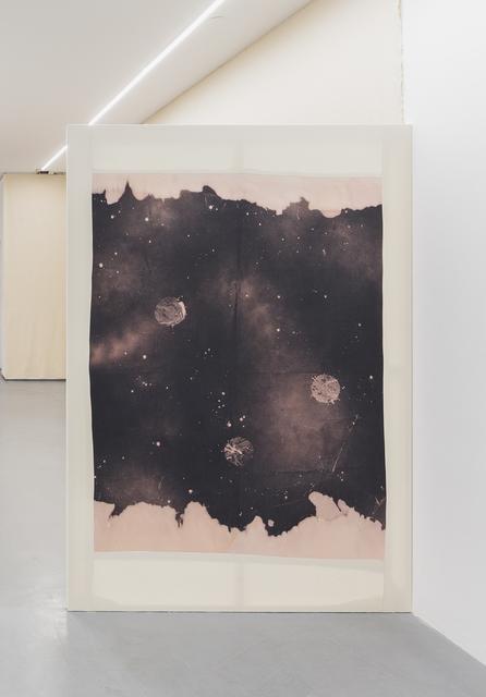 Manuel Tainha, 'CORRENTEZA', 2019 , Painting, Bleach and sewn on cotton, Foco