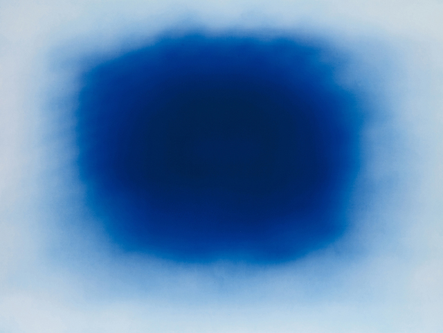 , 'Breathing Blue 2,' 2017, Galería La Caja Negra