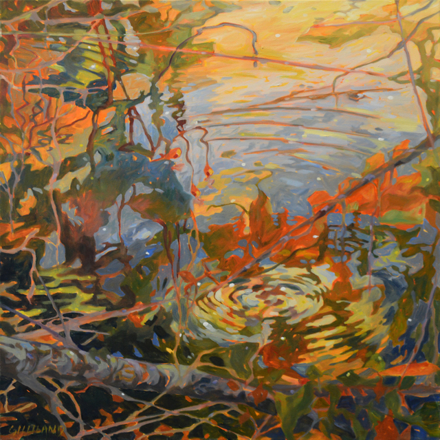 , 'Water Reflection 3,' , The Bonfoey Gallery