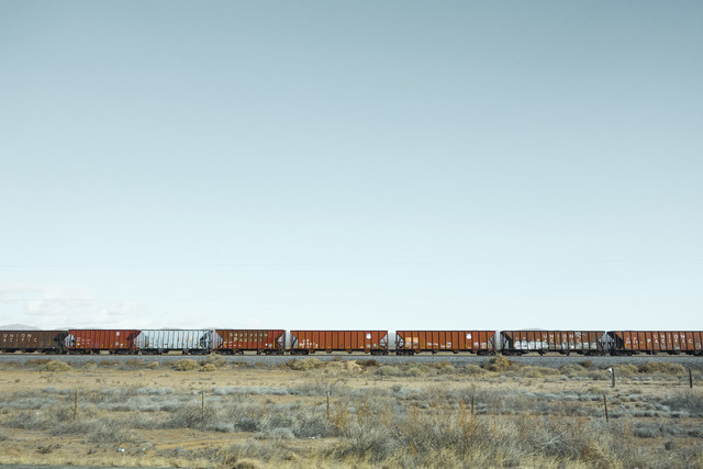 Jacob Hessler, 'Red Train', Dowling Walsh