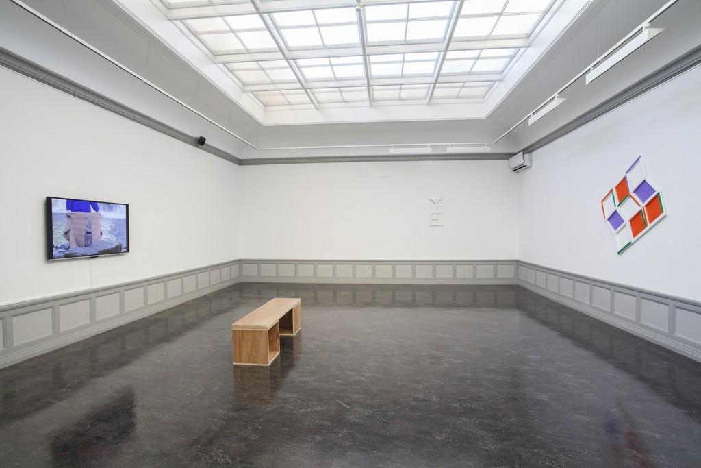 Jessica Warboys: Topo Scenic, installation view, 2016. Photo: Maya Økland / Kunsthall Stavanger.