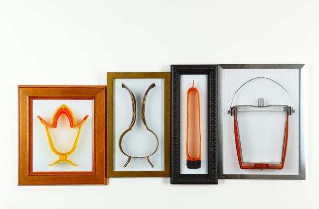 , 'De la serie ABC: e, f, g, h (exprimidor, florero, guatero, hielera),' 2011, GALERÍA PATRICIA READY