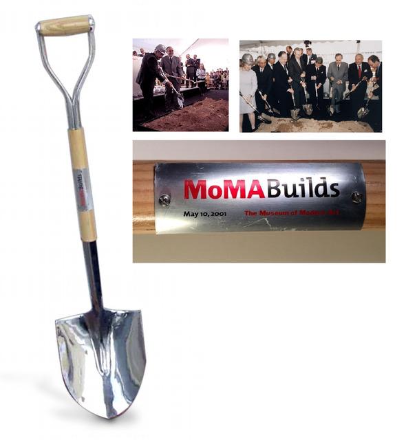 "Andy Warhol, '""MoMA Groundbreaking Shovel"", 2001, ONE of EIGHT, 2001, New Moma, Museum of Modern Art NYC', 2001, VINCE fine arts/ephemera"