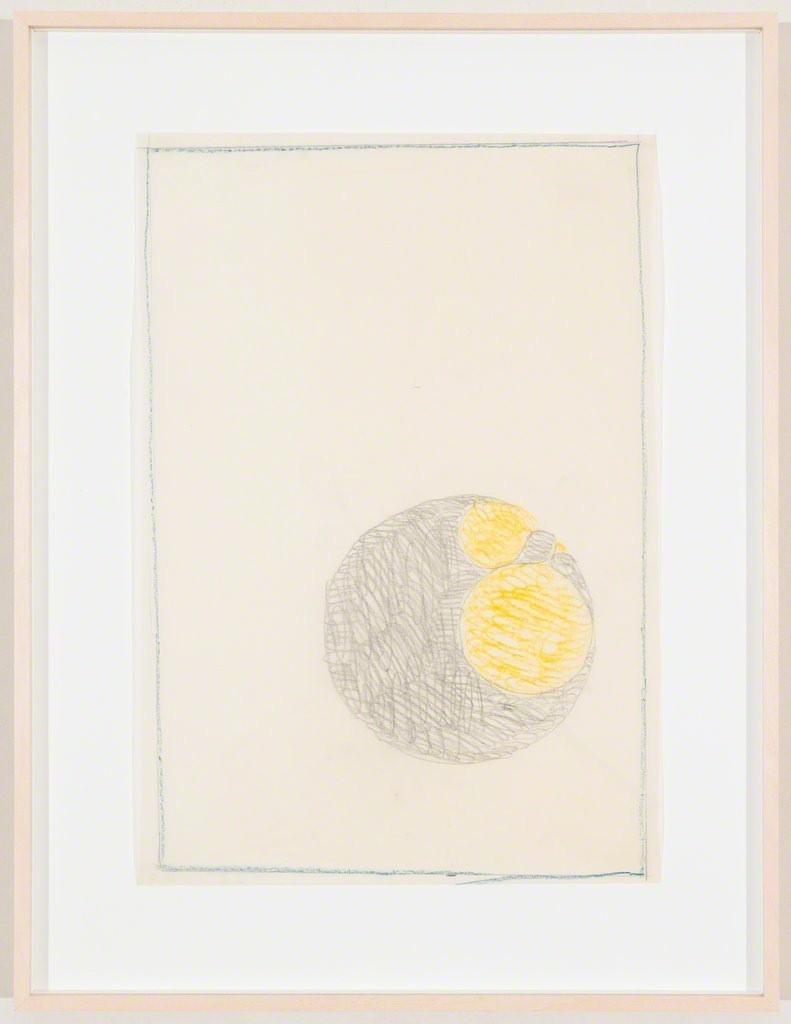 Max Bill, Kugel, 1946 Coloured pencil on paper 41.7 x 28.5 cm