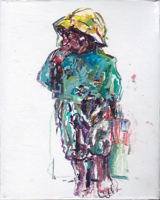 Judy Glantzman, 'Dressing For the Carnival, Boy 1 after Winslow Homer', 2014, Betty Cuningham