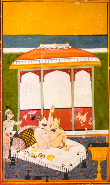 , 'A Prince with his Consort on a Terrace,' 18th century, Kapoor Galleries / Graham Shay 1857