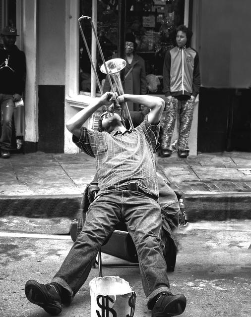 , 'New Orleans Trombone,' 2015, Carter Burden Gallery