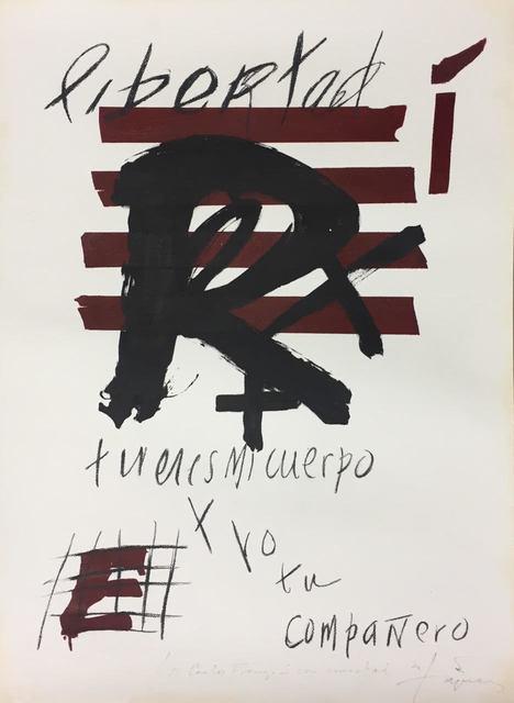 , 'Libertad,' 1976, Artgráfico