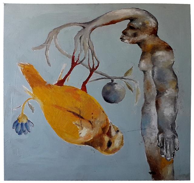 Sadikou Oukpedjo, 'Genèse', 2019, Kristin Hjellegjerde Gallery