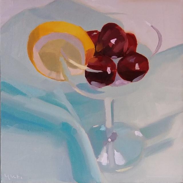 Yuri Tayshete, 'Cherries in a Glass', 2019, 440 Gallery