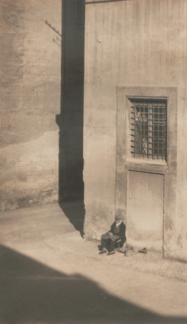 Clara Sipprell, 'Man on Village Corner', Neg. date: 1920's, Alan Klotz Gallery