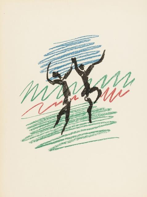 Pablo Picasso, 'Lithographe I-IV (Cramer 55, 60, 77, 125)', Print, Original lithographs, Forum Auctions