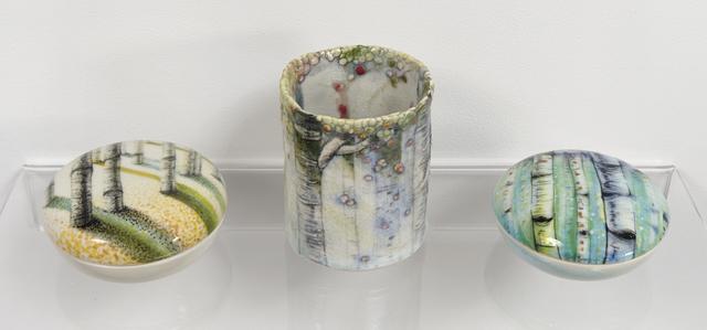 , 'Fall Box, Aspen Cup IV, Summer Box I,' 2016, Jane Hartsook Gallery